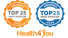 Voted Among Most Popular 25 in Health4You